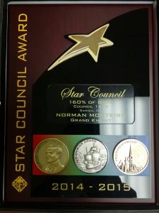 Star Council Award