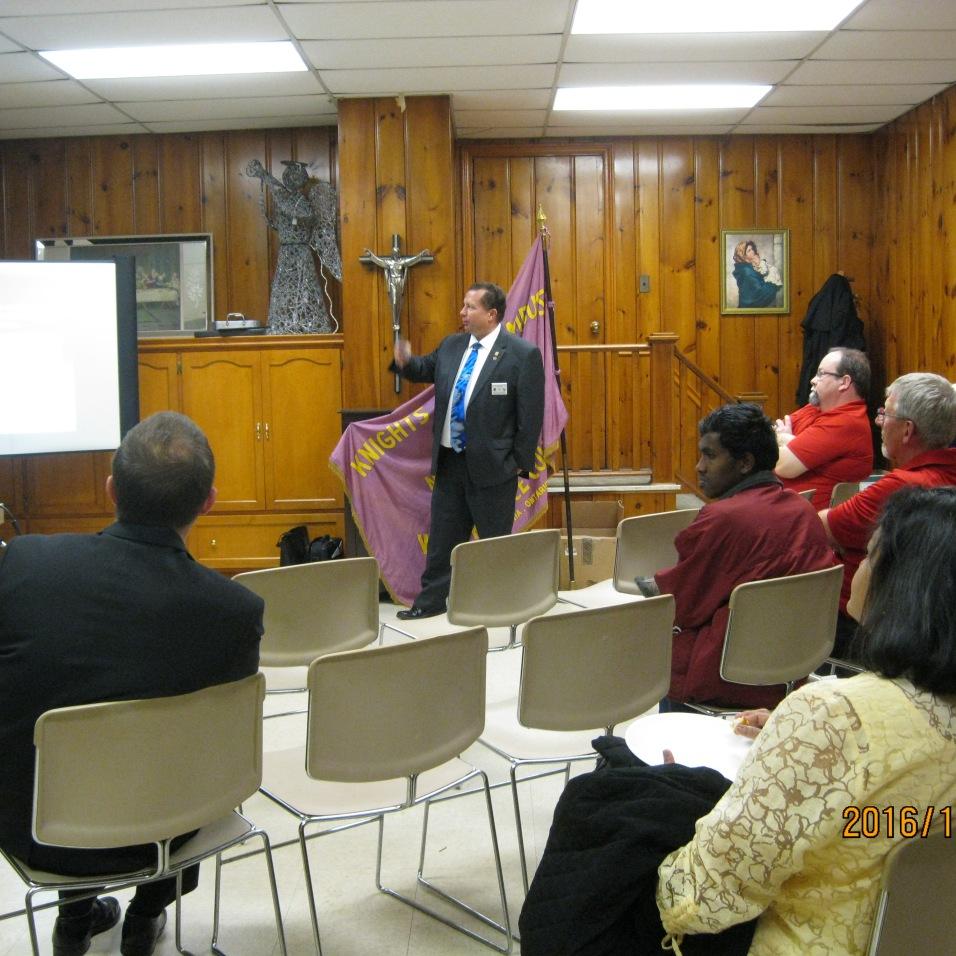 Fraternal Advisor Dan Gimpel speaks about the Order.