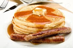 pancake-sausages