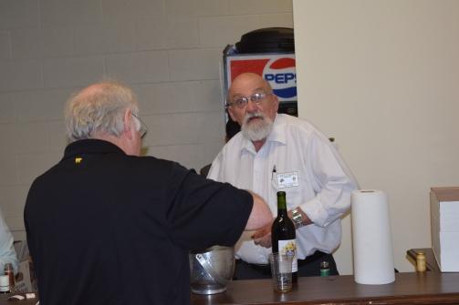 John behind the bar. THANK YOU John. Great Job!