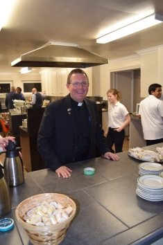 Fr. Savel is all smiles