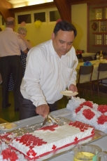 Richard's brainchild - He takes the cake for event of the year!..... nad eats it too?!