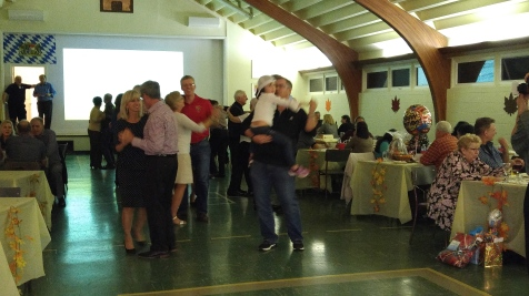 And, yes there was dancing.........