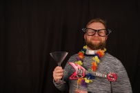 If wishes were horses, Rock 'n Roll would never be the same. Fr Mathieu having a great time at the photo booth