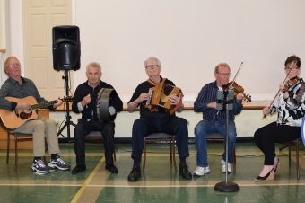 The Bluewater Ceili Band